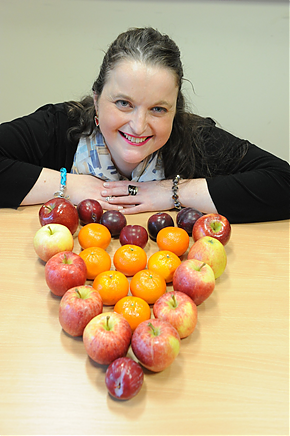 Winner of the British Heart Foundation's free fruit for a year competition revealed!